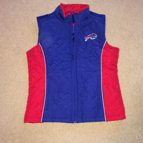 470f651b Womans M Buffalo Bills vest.